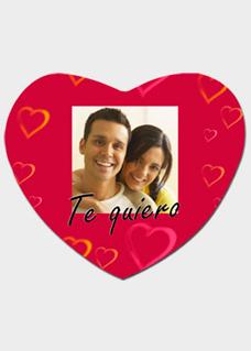Cojín San Valentín una cara