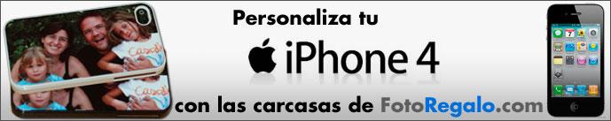 Carcasas personalizadas para Iphone 4 y Iphone 4s