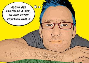 Regalo: Un Pop Art Comic 1 persona Impreso en papel brillo para alguien de BARCELONA