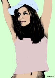 Regalo: Un Andy Warhol Pro 1 persona Impreso en un lienzo con bastidor para alguien de Salinas(Castrillon)