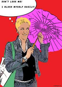 Regalo: Un Pop Art Comic 1 persona En un archivo JPG (sin impresión) para alguien de Tres Cantos