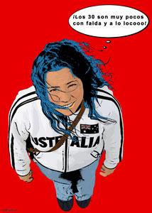 Regalo: Un Pop Art Comic 1 persona Impreso en papel brillo para alguien de Madrid