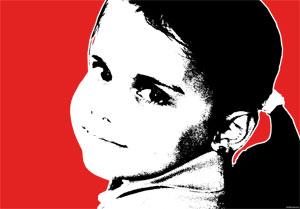 Regalo: Un Stencil Impreso en un lienzo con bastidor para Plasencia