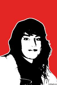 Regalo: Un Stencil Impreso en un lienzo con un bastidor para alguien de eibar
