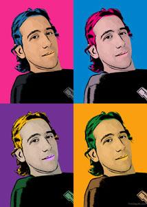 Regalo: Un Andy Warhol 1 persona 4 viñetas Vertical En un archivo JPG (Ya lo imprimiré yo) para alguien de Miguelturra