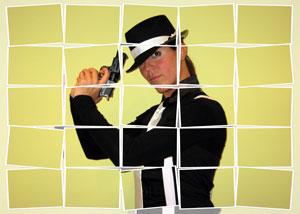 Regalo: Un FotoMontaje Impreso en un lienzo para alguien de barcelona