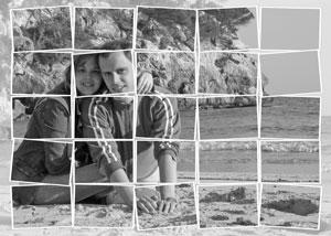 Regalo: Un FotoMontaje Impreso en un lienzo con un bastidor para alguien de AVILA