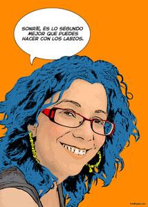 Regalo: Un Pop Art Comic 1 persona Impreso en papel brillo para CAMPOFRIO