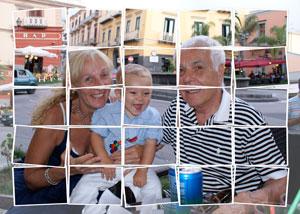 Regalo: Un FotoMontaje Impreso en un lienzo para alguien de madrid