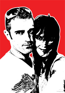 Regalo: Un Stencil Impreso en un lienzo con bastidor para Vinaroz