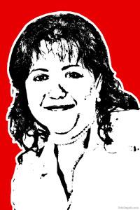 Regalo: Un Stencil Impreso en un lienzo con un bastidor para alguien de FINESTRAT