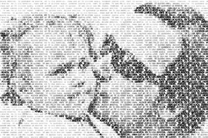 Regalo: Un FotoTexto Impreso en un lienzo con un bastidor para alguien de Toledo