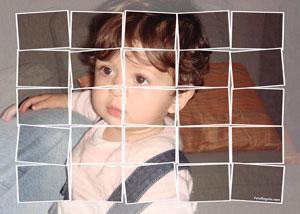 Regalo: Un FotoMontaje En una lámina enmarcada en aluminio para mairena del aljarafe