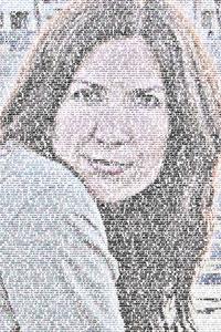 Regalo: Un FotoTexto Impreso en un lienzo con un bastidor para MATARO