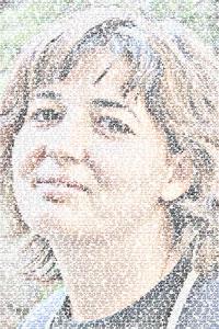 Regalo: Un FotoTexto Impreso en papel brillo para alguien de ALMERIA