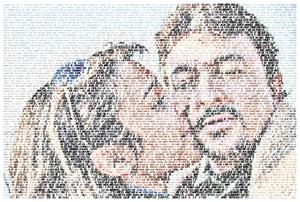 Regalo: Un FotoTexto Impreso en papel brillo para alguien de Alcalá de Henares