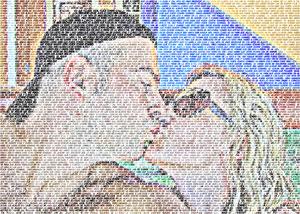 Regalo: Un FotoTexto En un archivo JPG (sin impresión) para alguien de blanes