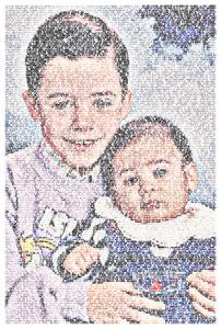 Regalo: Un FotoTexto Impreso en un lienzo con un bastidor para Torremolinos