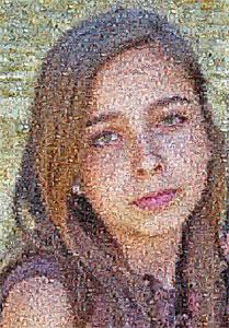 Regalo: Un MultiFotos Impreso en un lienzo con bastidor para alguien de santander