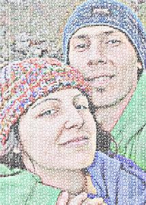 Regalo: Un FotoTexto En un archivo JPG (sin impresión) para madrid