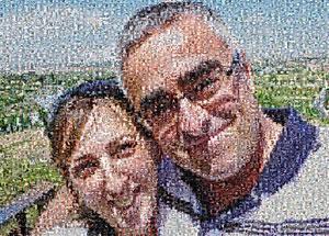 Regalo: Un MultiFotos Impreso en Madera Flotante para alguien de Briviesca