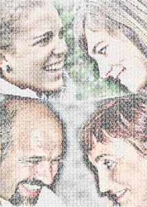 Regalo: Un FotoTexto Impreso en papel brillo para hernani