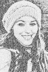 Regalo: Un FotoTexto Impreso en papel brillo para Barakaldo
