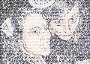 Regalo: Un FotoTexto Impreso en un lienzo para alguien de Briviesca