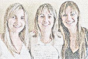 Regalo: Un FotoTexto Impreso en papel brillo para alguien de guissona
