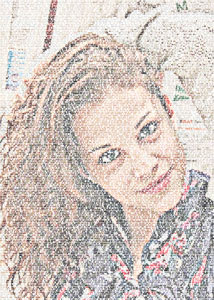 Regalo: Un FotoTexto En un archivo JPG (sin impresión) para alguien de Peralada