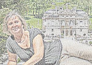 Regalo: Un FotoTexto Impreso en un lienzo con bastidor para alguien de Marbella